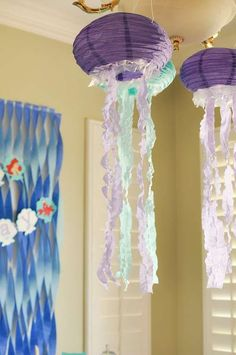The Little Mermaid Birthday Party Decorations!  See more party planning ideas at http://CatchMyParty.com!
