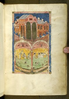 De balneis Puteolanis, MS G.74 fol. 5r - Images from Medieval and Renaissance Manuscripts - The Morgan Library & Museum