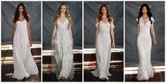 Claire Pettibone's Latest Wedding Dresses Bring Glam-Boho Bridal Style to the Masses