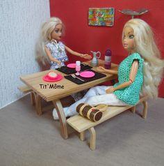poupee barbie meubles mobilier de salon meuble