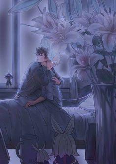 Bakugou Katsuki x Midoriya Izuku / Boku no Hero Academia Sad Anime, Anime Love, Anime Guys, Anime Art, My Hero Academia Shouto, Hero Academia Characters, Anime Characters, Deku Boku No Hero, Deku X Kacchan
