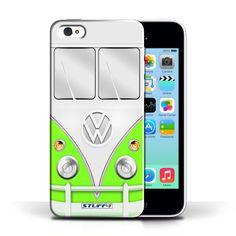Designer Mobile Phone Case / VW Camper Van Collection / Green #designer #case #cover #iphone #smartphone #vw #campervan