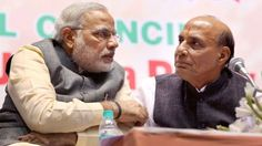 Rajnath replaces Modi as BJP campaign committee chief