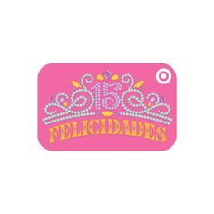 Quinceanera GiftCard Target GiftsPick