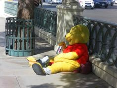 Winnie the Pooh drinks Vodka! Lmbo! This was too funny not to pin