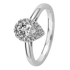 Valkokultaisen Garda-sormuksen keskellä säihkyy pisaramallinen valkotopaasi, jota ympäröi timantit. Timantit 14 x 0,01 H/SI + valkotopaasi. Saatavilla myös kelta- ja punakultaisena. Design Assi Arnimaa. Suositushinta 1250 €. Engagement Rings, Jewelry, Design, Enagement Rings, Wedding Rings, Jewlery, Jewerly, Schmuck
