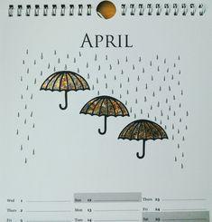 Clarity Fresh Cut umbrella die with gilding flakes - by Lynne Lee