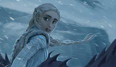 Daenerys Targaryen Art, Game Of Throne Daenerys, Khaleesi, Game Of Thrones Artwork, Game Of Thrones Houses, Game Of Thones, I Love Games, Mother Of Dragons, Marvel