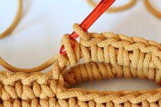 Háčkovaná taška / košík | Návody | Pletení a háčkování | Užitečné odkazy, tipy a triky | Polymerová hmota, scrapbooking, kurzy fimo, eshop – Nemravka Bracelets, Bags, Jewelry, Handbags, Jewlery, Jewerly, Schmuck, Jewels, Jewelery