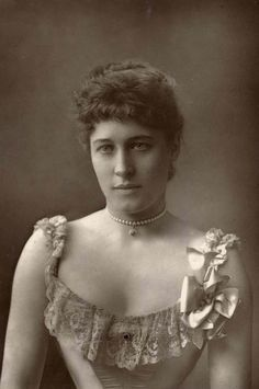Lillie Langtry (1853-1929), born in Jersey, was a stage actress and music hall singer.