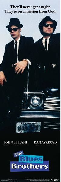 Blues Brothers Slim Poster 12inx36in