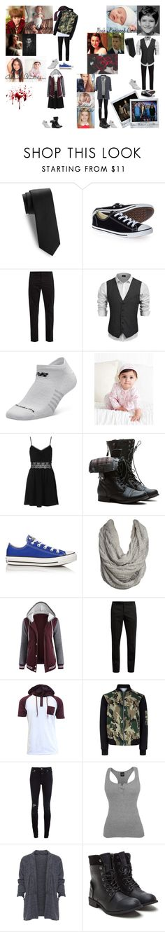 """Noah, Allison, Dylan and Holland"" by katrina-hale ❤ liked on Polyvore featuring Saks Fifth Avenue, Converse, Prada, Carlos by Carlos Santana, New Balance, Disney, Topshop, Polaroid, Wet Seal and Yves Saint Laurent"