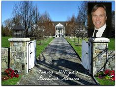 Tommy Hilfiger's mansion in Greenwich CT cover - Hooked on Houses