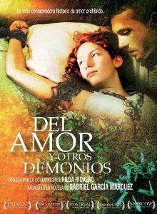 Amazon.com: Del amor y otros demonios: PABLO DERQUI, ELIZA TRIANA, Hilda Hidalgo, Alicia Films, CMO Producciones, Cacerola Films: Movies & T... Gabriel Garcia Marquez: Love and Other Demons
