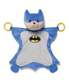 Look what I found on #zulily! GUND Batman Activity Blankie #zulilyfinds