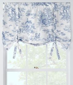 Lenoxdale Toile Tie-Up Valance - Country Curtains®
