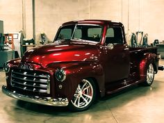 Ideas for 53 Chevy – En Güncel Araba Resimleri Custom Pickup Trucks, Vintage Pickup Trucks, Classic Pickup Trucks, Antique Trucks, 54 Chevy Truck, Chevrolet Trucks, Gmc Trucks, Cool Trucks, Custom Muscle Cars
