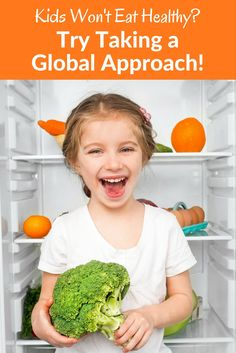 Almost every parent struggles to get their kids to eat healthy food. One new idea to try? Offer them tastes and flavors from around the world! You'll be educating them about international cultures while also expanding their palates and culinary experiences.