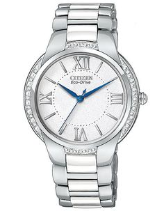 Citizen Eco-Drive Ciena Ceramic Diamond Ladies Watch - White Sparkle Dial.  Női ÓrákRozsdamentes Acél KaróraNői Divat 14ea6ad23c