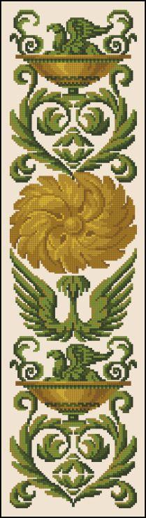 Gallery.ru / Φωτογραφίες # 5 - Retro (ανακατασκευή μου) - Zabka Cross Stitch Embroidery, Embroidery Patterns, Hand Embroidery, Cross Stitch Patterns, Vintage Borders, Cool Lettering, Craft Patterns, Needlepoint, Pattern Design