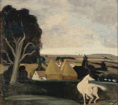 André Derain / Paysage au cheval blanc Art Fauvisme, Lawrence Lee, André Derain, Art Français, Art Moderne, Modernism, French Art, Matisse, France