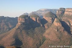 The Panorama Route in Mpumalanga, South Africa has many attractions and scenic sights - well worth a day trip if you're near the Kruger National Park.