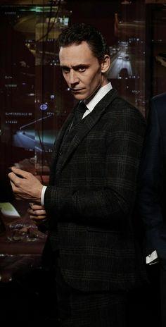 A tuxedo-clad Tom Hiddleston can do no wrong, especially if a smoldering look and a tartan print is involved.