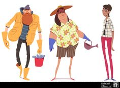 Rayner Alencar ✤ || CHARACTER DESIGN REFERENCES | Find more at https://www.facebook.com/CharacterDesignReferences if you're looking for: #line #art #character #design #model #sheet #illustration #expressions #best #concept #animation #drawing #archive #library #reference #anatomy #traditional #draw #development #artist #pose #settei #gestures #how #to #tutorial #conceptart #modelsheet #cartoon