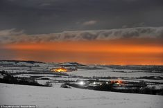 UK weather: Big Freeze to go out with a bang as Met Office issues warnings for up to a foot of snow Uk Weather, Severe Weather, Office Issues, Big Freeze, Flood Warning, Country Uk, Northern England, England And Scotland, Countryside