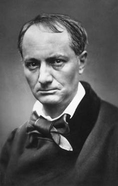 Charles Baudelaire. French Poet who wrote Flowers of evil. ( Translated from French to english by Edna St. Vincent Millay and George Dillon)