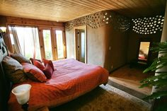 earthship biotecture... bedroom with a view.