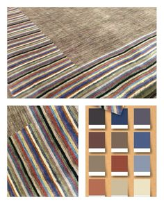 Patterns and texture don't have to shout to make a statement. Rugs are a great way to bring in interest without overpowering the design scheme.