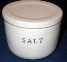 Hearth & Hand by Magnolia Stoneware Salt Cellar-SALT ONLY  | eBay