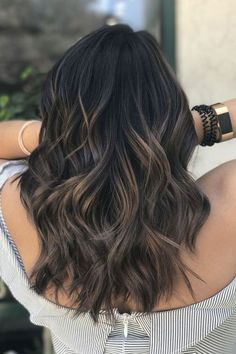 Image result for balayage on black hair