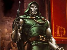 Dr Doom by Clayton Crain by Superman8193 on DeviantArt