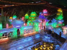 Ice Festival in Long Qing Gorge