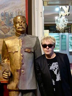 Nick at the communist museum in Prague