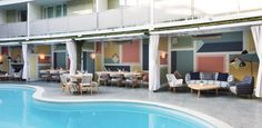 Or find a pool, any pool, that serves brunch. We're partial to Viviane at the Avalon Hotel in Beverly Hills.