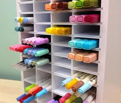 Ultimate Marker Organizer from OrganizeMore!