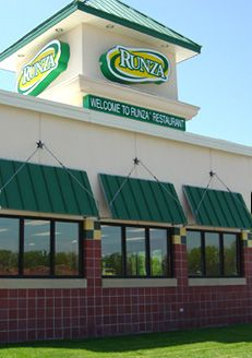 Runza, 965 South 72nd St., is a Midwest staple and home to the Runza Sandwich, a delicious combination of ground beef, cabbage, cheese, and onion. Be sure to stop in for a Runza (and fries) during their Temperature Tuesday campaign in the winter. Find out more and http://www.runza.com