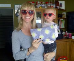 The lovely Zoe Ball from BBC Radio 2 and Strictly's it takes Two and her gorgeous little girl loved Mini Changing Bag