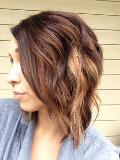 Fall hair color kinda want this color!!!!