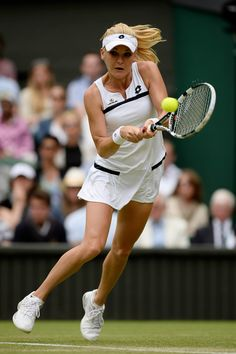 Agnieszka Radwanska on Day4 of the Wimbledon Tennis Championships in London June 27-2013 #WTA #Radwanska #Wimbledon