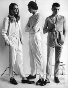 "crosstheocean: "" Generation to Generation in Vogue Hommes Japan by Josh Olins """