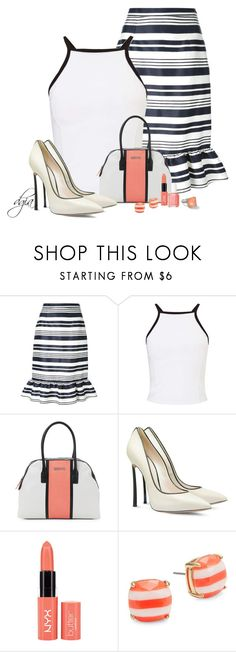 """""""Valentino skirt"""" by dgia ❤ liked on Polyvore featuring RED Valentino, Miss Selfridge, Kenneth Cole Reaction, Casadei, Essie, Kate Spade and Ippolita"""