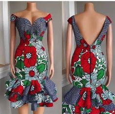 2019 African Fashion: Latest Ankara Gown Styles By Diyanu Latest Ankara Gown, Short African Dresses, Ankara Short Gown Styles, Trendy Ankara Styles, Latest African Fashion Dresses, African Print Dresses, Ankara Fashion, Short Gowns, Ankara Gowns