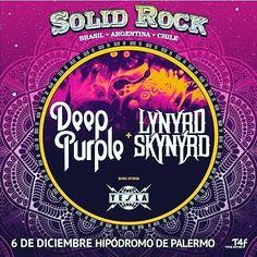 Deep Purple Lynyrd Skynyrd y Tesla 6 de diciembre en el Hipódromo de Palermo   Deep Purple creada en Gran Bretaña a finales de la década de los 60 pioneros del hard rock y el heavy metal aunque durante su carrera también ha incorporado elementos del rock progresivo rock sinfónico rock psicodélico blues rock y de la música clásica presentará su show despedida en Argentina el próximo 6 de diciembre en el marco del Solid Rock Festival junto a Lynyrd Skynyrd y Tesla como invitado especial. La…