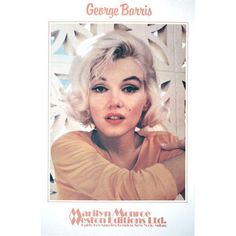 George Barris-Marilyn Monroe- Ethereal Pleasure-1982 Poster ($350) ❤ liked on Polyvore featuring home, home decor, wall art, posters, friends poster, ny poster, ny wall art, new york poster and marilyn monroe home decor