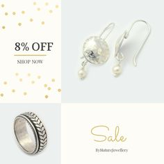 8% OFF on select products. Hurry, sale ending soon!  Check out our discounted products now: https://www.etsy.com/shop/ByNatureJewellery?utm_source=Pinterest&utm_medium=Orangetwig_Marketing&utm_campaign=pre%20black%20Friday%20sale   #etsy #etsyseller #etsyshop #etsylove #etsyfinds #etsygifts #musthave #loveit #instacool #shop #shopping #onlineshopping #instashop #instagood #instafollow #photooftheday #picoftheday #love #OTstores #smallbiz #sale #instasale