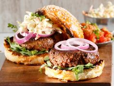 Tikka beef burgers • Add a little curry kick to your hamburgers for a departure from the ordinary.
